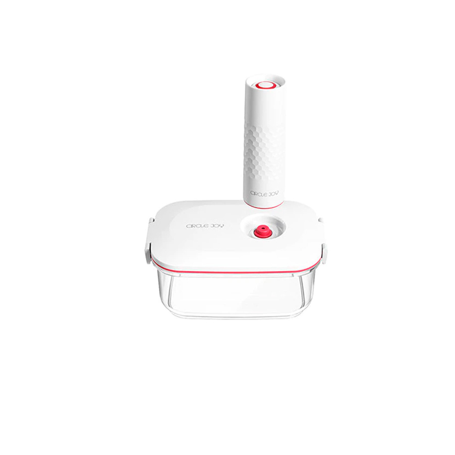Circle Joy vacuum container with electric vacuum pump (1.3L) (CJ-VST01-1.3L)